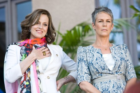 Sigourney Weaver and Jamie Lee Curtis