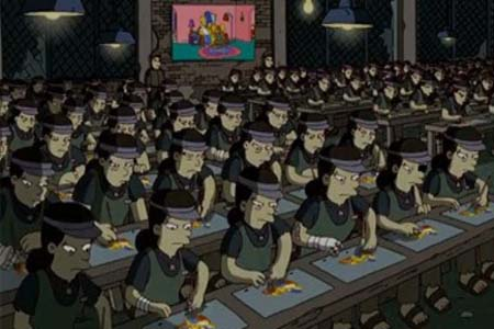 Banksy opening sequence causes The Simpson controversy