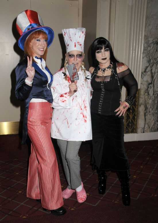 Celebrity Halloween Costume: Kathy Griffin, Bette Midler, Gloria Estefan