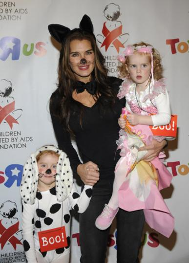 Celebrity Halloween Costumes: Brooke Shields