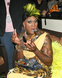Celebrity Halloween Costume: Dennis Rodman