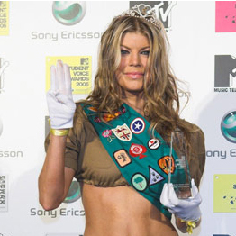 Celebrity Halloween Costume: Fergie