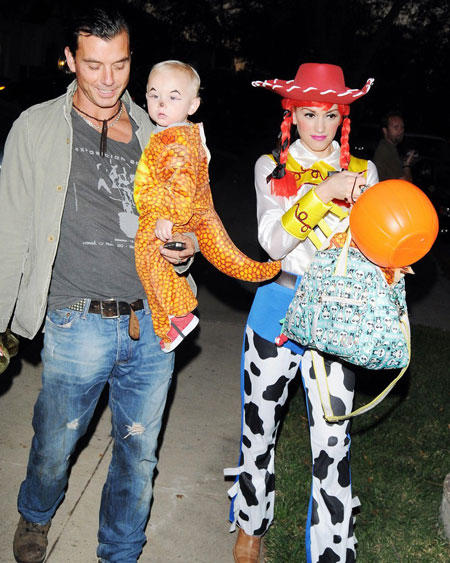 Celebrity Halloween Costume: Gwen Stefani and Gavin Rossdale