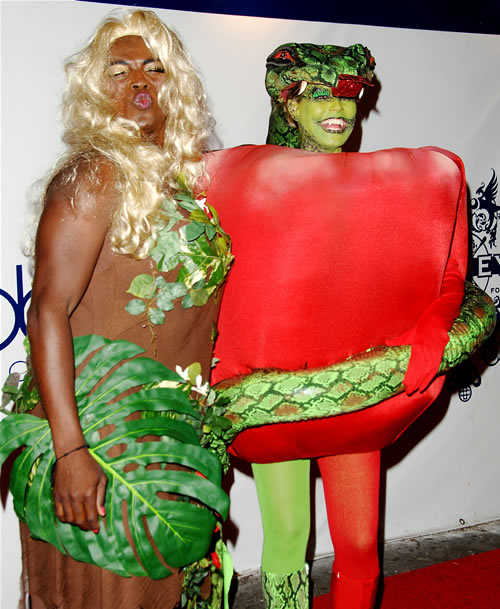 Celebrity Halloween Costume: Heidi Klum and Seal