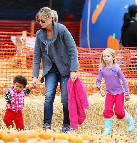 Halloween in Hollywood: Heidi Klum and the kids