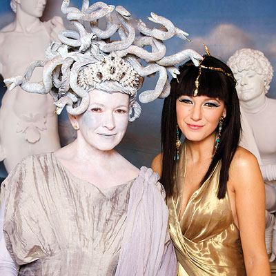 Celebrity Halloween Costumes: Martha Stewart and Blake Lively