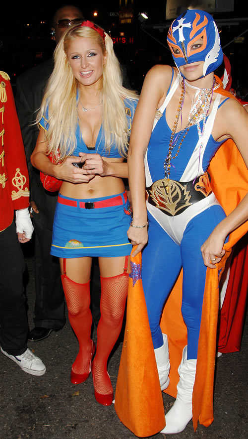 Celebrity Costumes: Paris Hilton