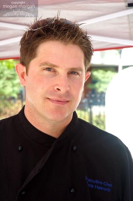 English Chef Chris Haworth