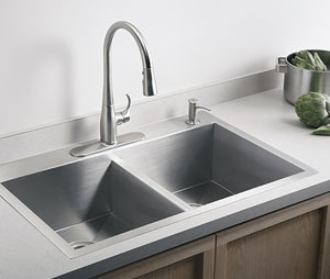 Kohler Vault Double-Equal Kitchen Sink