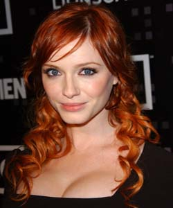 Christina Hendricks refers to herself as Pansexual