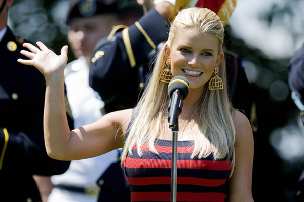 Jessica Simpson is accepting her body