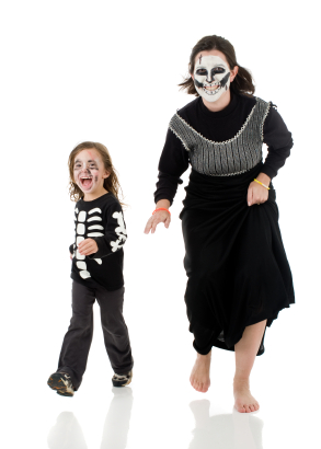 Mom and son costumes