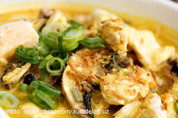 Easy Chicken Laska