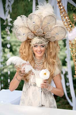 Sandra Lee's Faireen Halloween Costume