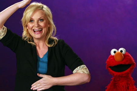 Amy Poehler on Sesame Street