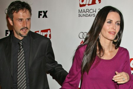 David Arquette and Courteney Cox in happier days