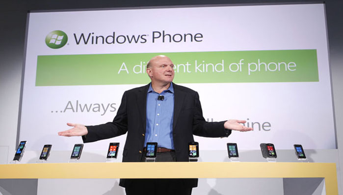 Windows unveils the Windows Phone 7