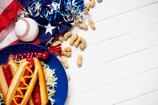 Baseball party food