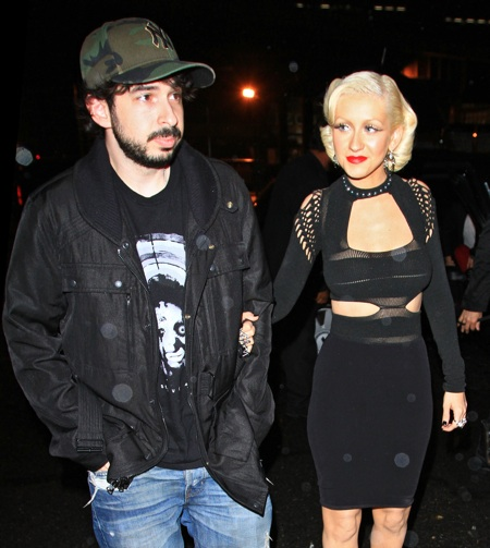 Christina Aguilera Jason Bratman