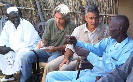 George Clooney visits Sudan. Now, Clooney is on a tour of south Sudan, ...