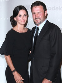 Courteney Cox David Arquette
