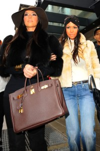 Kardashian sisters invade New York