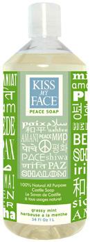 Kiss my face peace soap