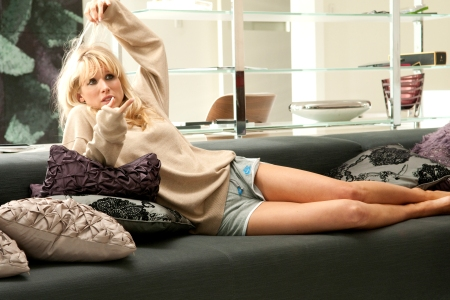 Lucy Punch in You Will Meet a Tall, Dark Stranger