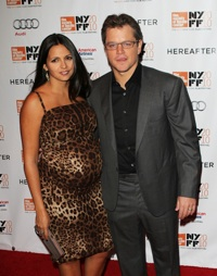 Matt Damon Luciana Barrosa