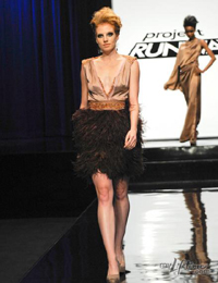 Michael's design on Project Runway