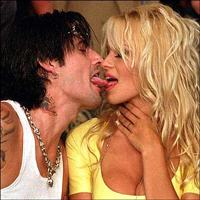 Pamala Anderson and Tommy Lee