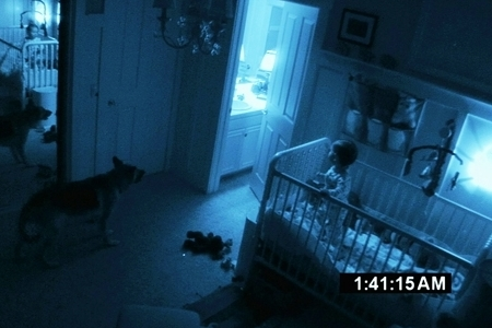 Paranormal Activity 2 in theaters now