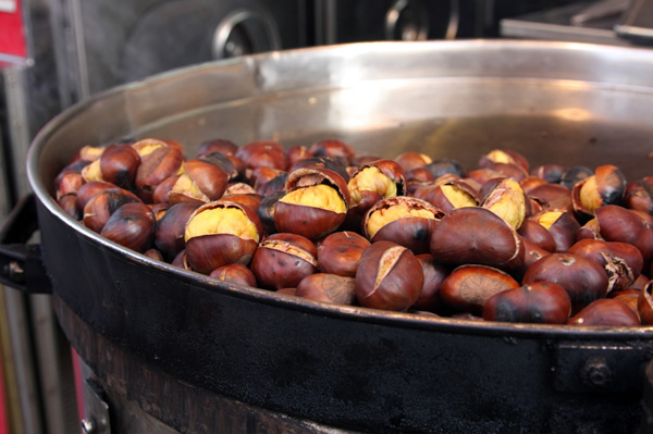Roasted chestnuts and more