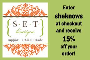 SET Botique SheKnows Discount