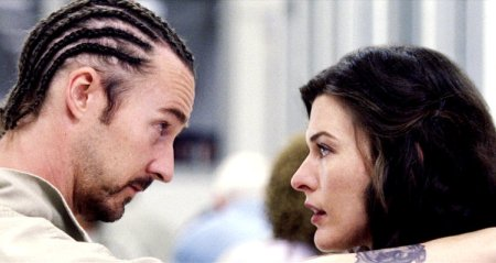 Edward Norton and Milla Jovovich in Stone