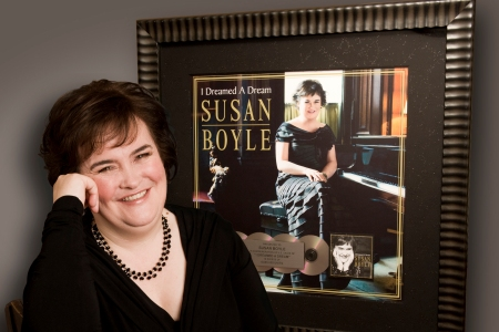 Susan Boyle visits Dancing With the Stars