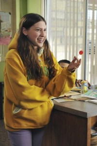Eden Sher is Sue Heck on The Middle