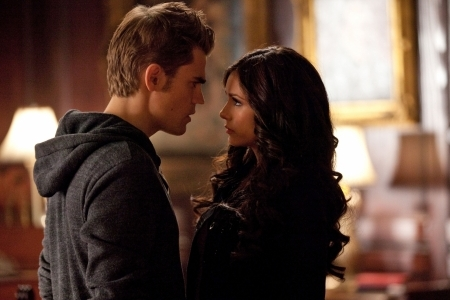 Stefan and Katherine tangle!