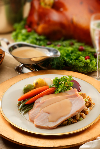 White wine turkey gravy