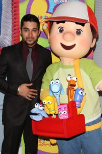 Wilmer Valderrama and Handy Manny