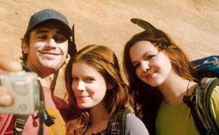 James Franco, Amber Tambolyn and Kate Mara in 127 Hours