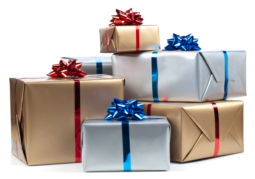 Gift overload - less is more!