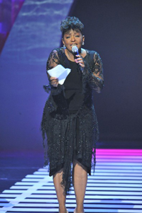 Aninta Baker at Soul Train Awards