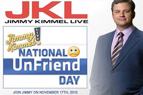 Nov. 17 is National Unfriend Day