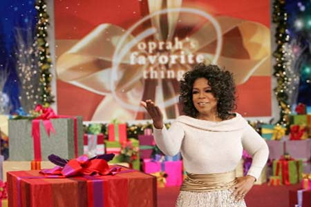 Oprah unveils day two of Oprah's Ultimate Favorite Things
