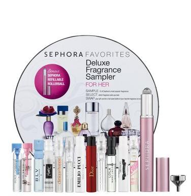 sephora fragrance sampler perfume