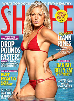 LeAnn Rimes on Shape