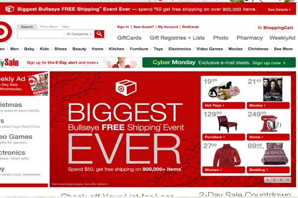Target offering pre-Black Friday 2010 sale