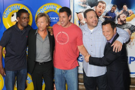 Adam Sandler, Chris Rock, David Spade, Kevin James and Rob Schneider