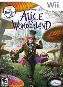 Alice in Wonderland Wii game